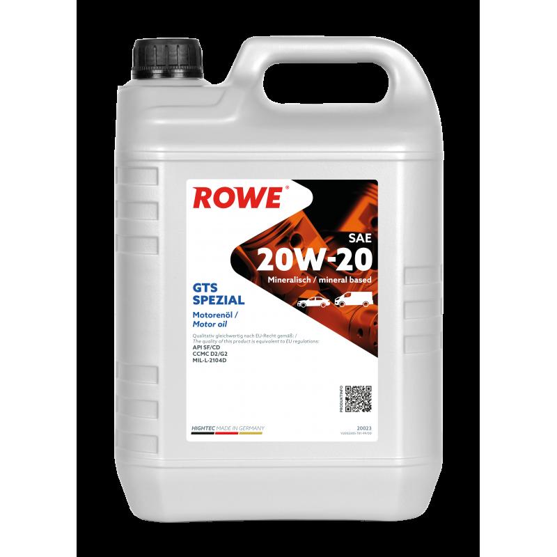 ROWE HIGHTEC GTS SPEZIAL 20W-20 5л.
