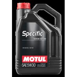 Motul Specific 504 00 507 00 5W-30, 5 литров