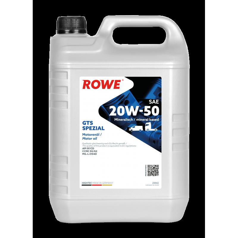 ROWE HIGHTEC GTS SPEZIAL 20W-50 5л.