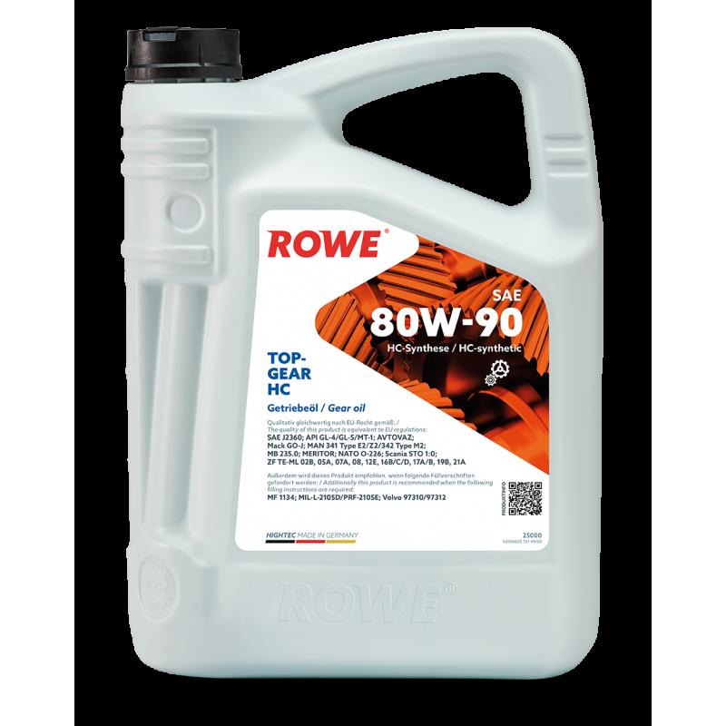 ROWE HIGHTEC TOPGEAR HC 80W-90 5л.