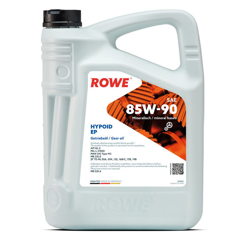 ROWE HIGHTEC HYPOID EP 85W-90 5л.