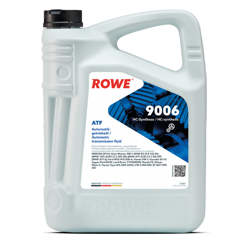 ROWE HIGHTEC ATF 9006 5л.