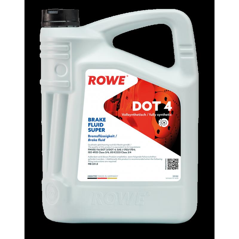 ROWE HIGHTEC Brake Fluid Super DOT 4 5л.