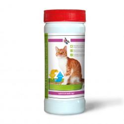 "Киска \ Ликвидатор запаха для кошачьего туалета ""Цветочный луг"" 400гр"