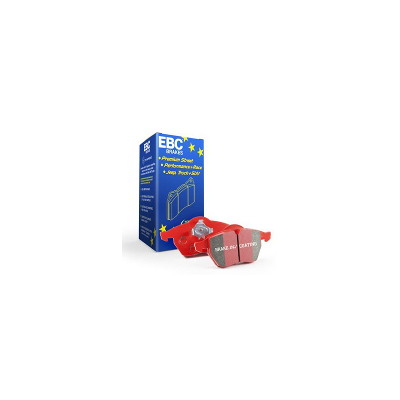 EBC RedStuff (DP3680C) Колодки задние для Megane Coupe 2.0t (250hp) (2009 - )