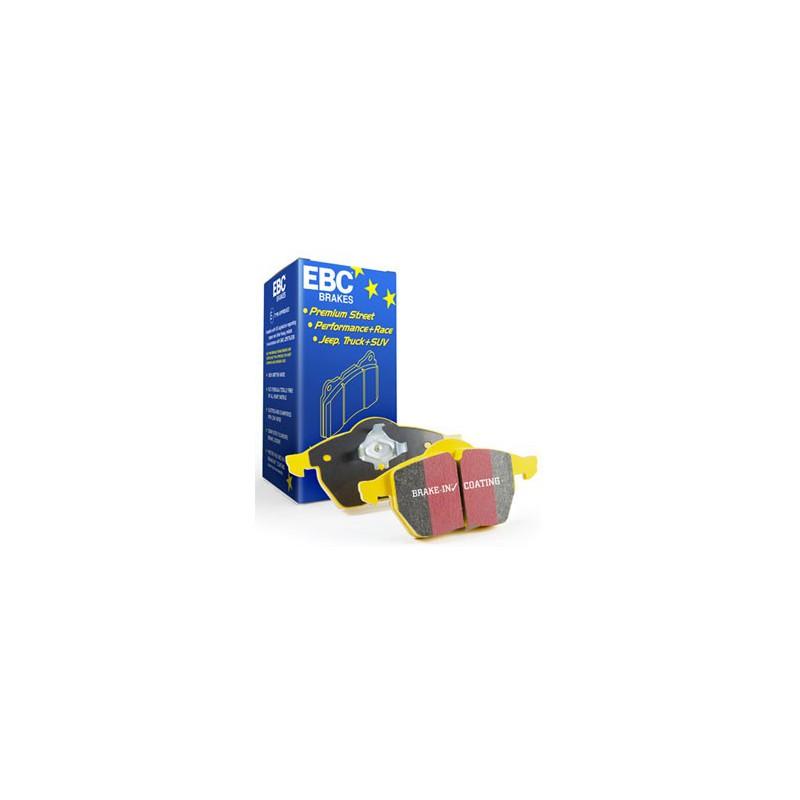 EBC YellowStuff (DP41908R) Колодки передние для Megane Coupe 2.0t (250hp) (2009 - )