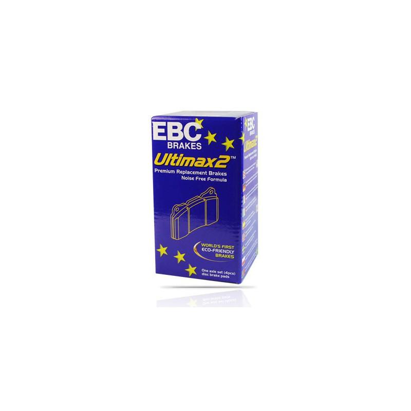 EBC Ultimax (DP1932) Колодки передние для Mondeo 1.6, 2.0л (2007 -)