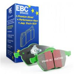 EBC GreenStuff (DP21932) Колодки передние для Mondeo 1.6, 2.0, 2.3, 2.5t (2007 - ), 1.6t, 2.0t (2010 - )