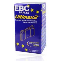 EBC Ultimax (DP1933) Колодки задние для Mondeo 1.6, 2.0, 2.3, 2.5t (2007 - ), 1.6t, 2.0t (2010 - )