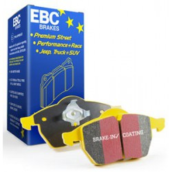 EBC YellowStuff (DP41218R) Колодки задние для Fiesta ST 2.0 (2004 - 2008), Focus ST (170hp) (2002 - 2005)