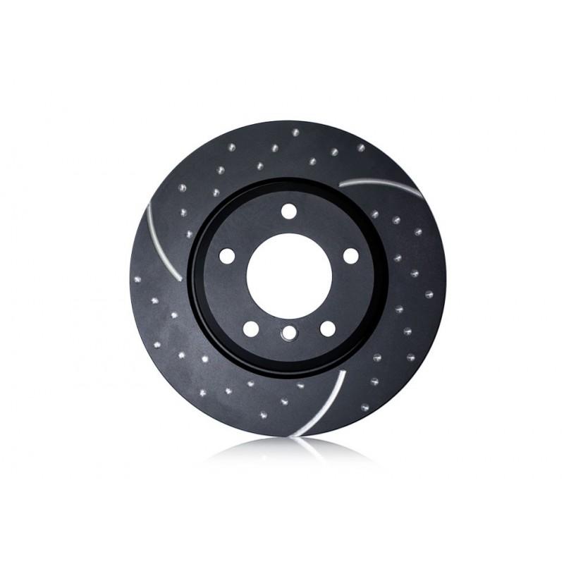 EBC (GD1315) Тормозные диски задние серии GD для Mazda 3 2.0л (2004 -), Mazda 3 MPS 2.3t  (2007 -)