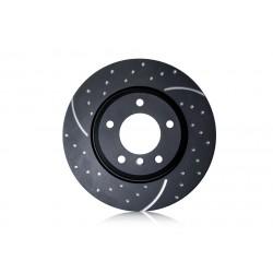 EBC (GD1197) Тормозные диски задние серии GD для Mazda 6 1.8л, 2.0л, 2.3л, 2.5л (2002 - )