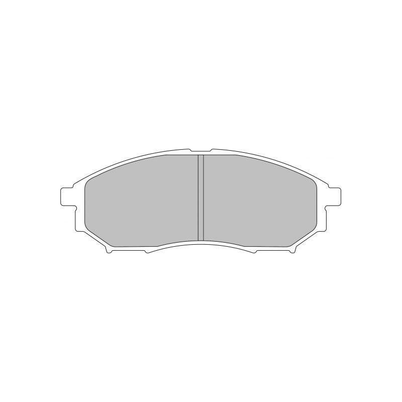 Ferodo DS2500 тормозные колодки передние для Infinity G35 RWD (2005 - 2006), M35, M45 (2006-2008), FX35, FX45 (2005-2008) ( (
