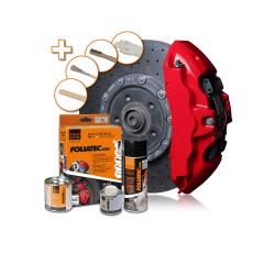 Foliatec (2194) Краска для суппортов красная глянцевая Performance Red