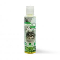 Киска / Шампунь для кошек с Алоэ Вера и кондиционером 2в1 240 мл