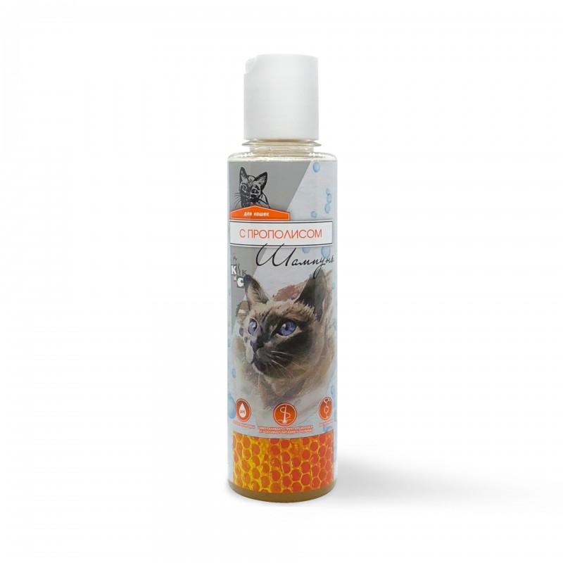 Киска / Шампунь для кошек с Прополисом 240 мл