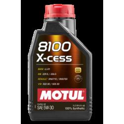 Motul 8100 X-cess 5W-30, 1 литр