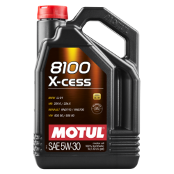 Motul 8100 X-cess 5W-30, 5 литров