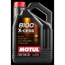 Motul 8100 X-cess 5W-30, 4 литра