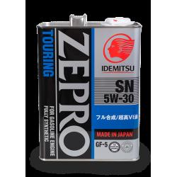 Idemitsu Zepro Touring 5W30, 4 литра