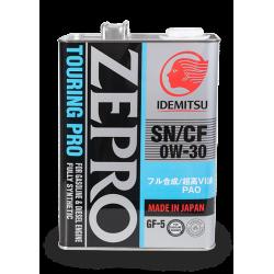 Idemitsu Zepro Touring Pro 0W-30, 4 литра