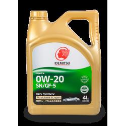 Idemitsu 0W20, 4 литра