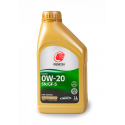 Idemitsu 0W20, 1 литр