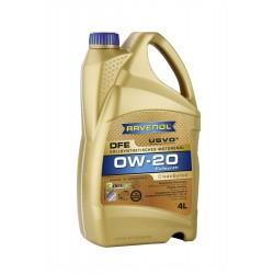 Ravenol DFE SAE 0W-20, 4 литра