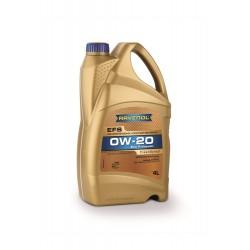 Ravenol EFS EcoFullSynth. SAE 0W-20, 4 литра