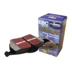 EBC Ultimax (DP1320) Колодки передние для Fiesta 1.4л (2002 - 2008), 1.6л (2000 - 2008), Fusion 1.4, 1.6л (2002 - )
