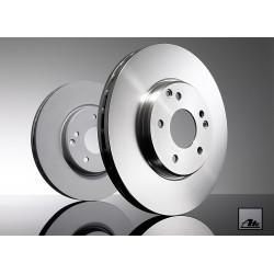 Тормозные диски ATE (24.0126-0154.1) передние для Nissan X-Trail 2.0, 2.5л  (2007 - ), Qashqai 1.6, 2.0 (2007 - 2014)