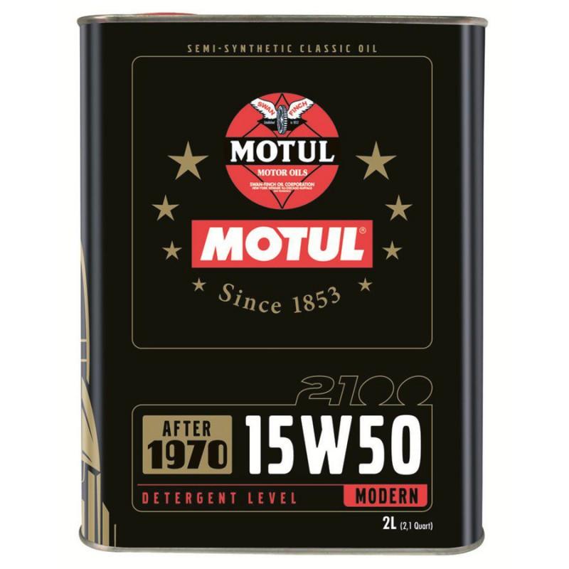 Motul 2100 15W50, 2 литра