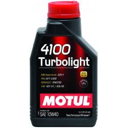 Motul 4100 Turbolight 10W40, 1 литр
