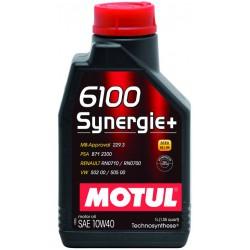 Motul 6100 Synergie+ 10W40, 4 литра