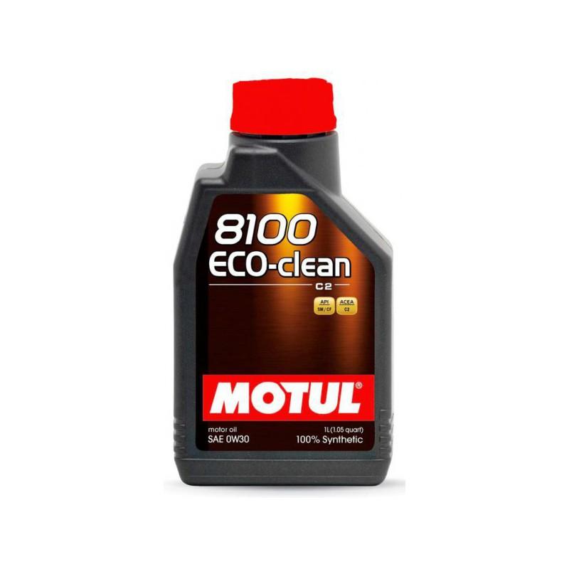 Motul 8100 Eco-clean 0W30, 1 литр