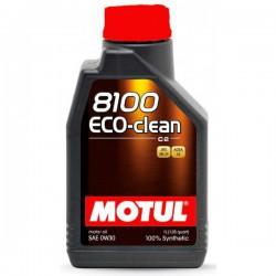 Motul 8100 Eco-clean 0W30, 5 литров
