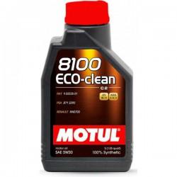 Motul 8100 Eco-clean 5W30, 1 литр