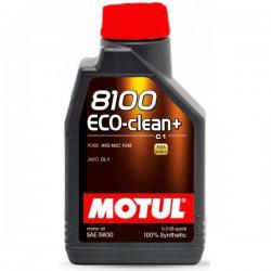 Motul 8100 Eco-clean+ 5W30, 1 литр