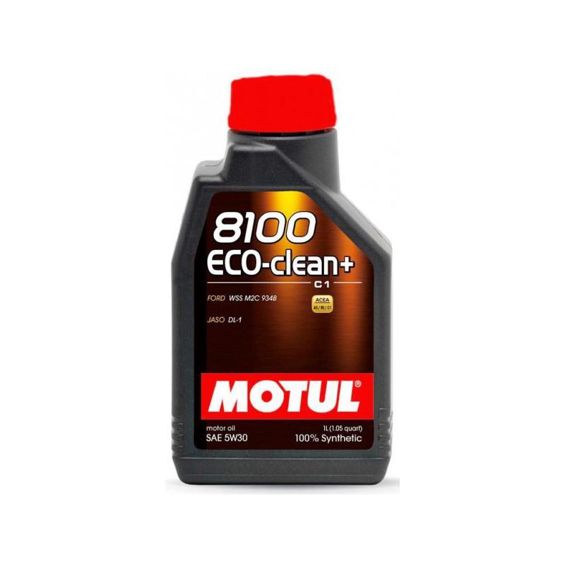 Motul 8100 Eco-clean+ 5W30, 5 литров