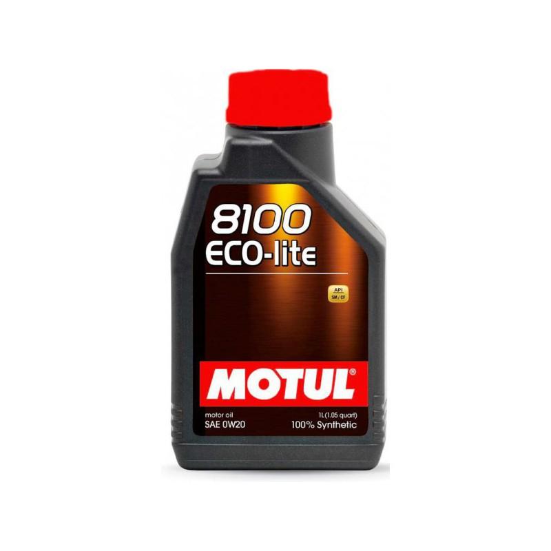 Motul 8100 Eco-lite 0W20, 1 литр