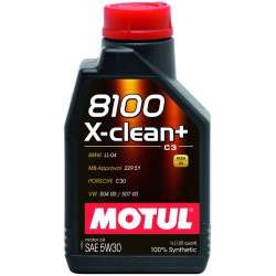 Motul 8100 X-clean+ 5W30, 5 литров