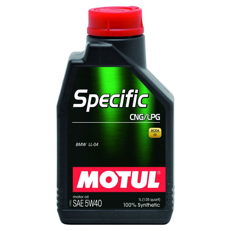 Motul Specific CNG/LPG 5W40, 5 литров